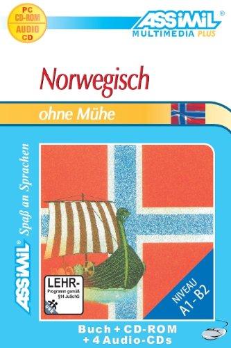NORWEGISCH OHNE MHE. MULTIMEDIA-PLUS. LEHRBUCH + 4 AUDIO CDS + CD-ROM [IMPORT ALLEMAND]