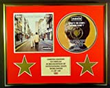 OASIS/CD DISPLAY/LIMITED EDITION/COA/(WHAT'S THE STORY) MORNING GLORY?