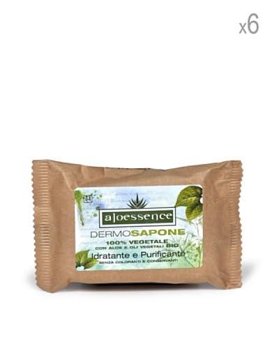 Omnia Botanica Set 6 Piezas De Jabón Con Efecto Hidratante Y Purificante De Aloe Vera 100 ml Ud.