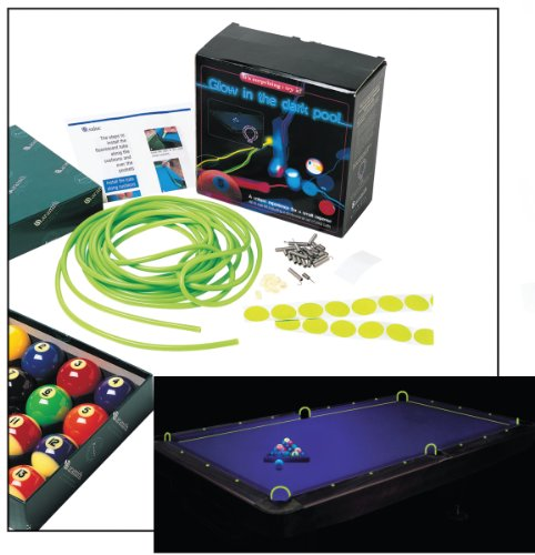 Aramith Glow In The Dark Pool Table Kit Sporting Goods