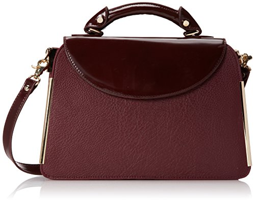 Ivanka Trump Crystal IT1812 Top Handle Bag,Wine,One Size