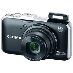 Canon PowerShot SX230HS 12 MP Digital Camera