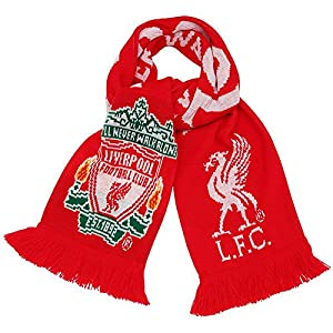 Liverpool Official Scarf - Multi-Colour, One Size from Liverpool