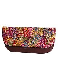 Womaniya PU Brown Handbag For Women(Size-28 Cm X 15 Cm X 3 Cm) - B00SJ1L916