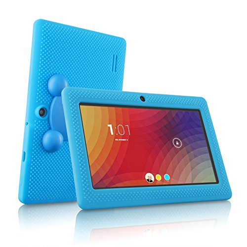 LillyPad Jr.® Kids Tablet with Exclusive App Suite and Parental Controls - Android 4.4 KitKat and Bluetooth 4.0 - Aqua Blue