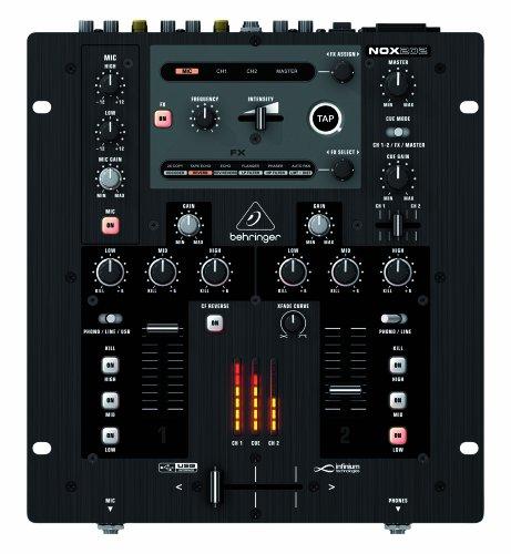 Behringer NOX202 2 Channel DJ Mixer