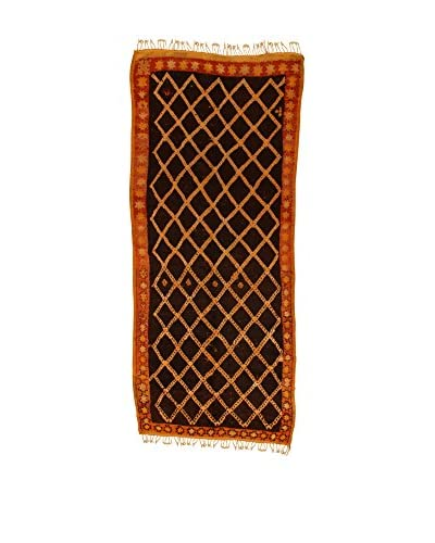 Design Community By Loomier Teppich Ma Maroc Barber braun/beige
