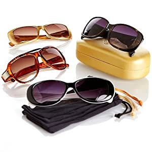 amazon   joy mangano shades bifocal sunglasses 9 piece