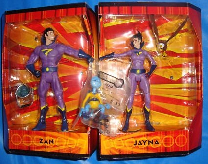 Mattel Dc Universe SDCC Exclusive Wonder Twins With Gleek
