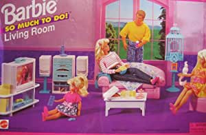 Amazon Barbie So Much To Do Living Room Playset 1995