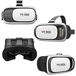 VR BOX 2.0 Imported Virtual Reality 3D Glasses Google Cardboard for iBall Aspire QE 45 (Not Included Remote Control)