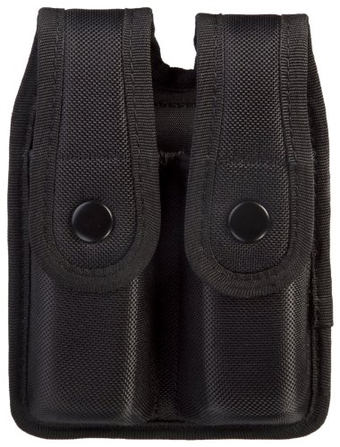 Uncle Mike'S Sentinel Molded Nylon Mag Pouch, Black (For Glock 17)