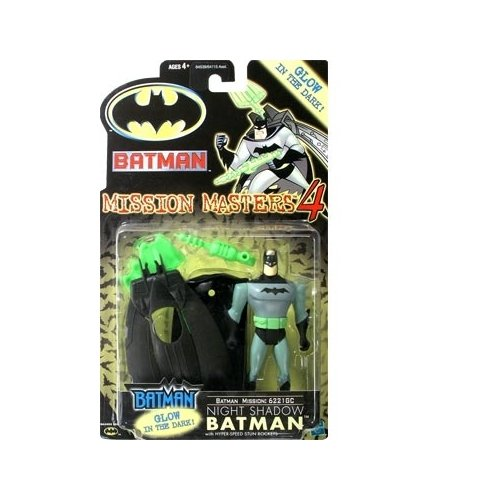 Batman: The New Batman Adventures Mission Masters 4 Night Shadow Batman Action Figure - 1
