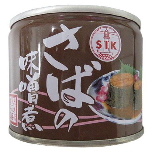 信田缶詰 さば味噌煮 190g×24缶