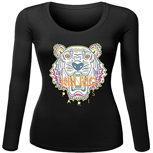 Pop Kenzo Cool Tiger Head For Ladies Womens Long Sleeves Outlet