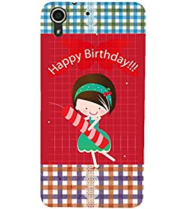 PrintDhaba Quote D-3597 Back Case Cover for HTC DESIRE 728 (Multi-Coloured)