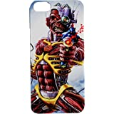 Cover Iphone 4 4s Iron Maiden hard rock metal custodia rigida