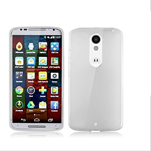 BEST DEALS Best Deals Premium Silicon Soft Case Cover for Motorola Moto X Play White