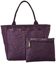 LeSportsac Small Everygirl Tote,Blackberry Nouveau,One Size