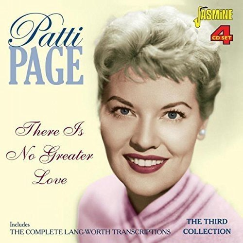 Patti Page - There Is No Greater Love - Includes The Complete Lang-Worth Transcriptions - The Third Collection [original Recordings Remastered] 4cd Set - Lyrics2You