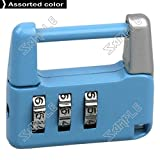 ( LittleSomething ) 3 Digit Resettable Rotational Combination Lock Padlock - Color Assorted (Toys / Hobbies > lifestyle gadgets)