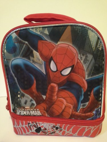 Marvel Ultimate Spiderman Dual-compartment Lunch Bag - 1