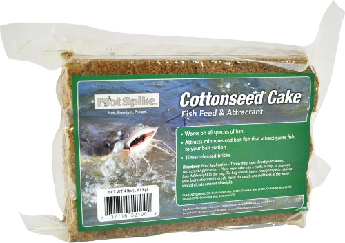 Plotspike Cottonseed Cake Fish Feed And Attractant Pond Fertilizer