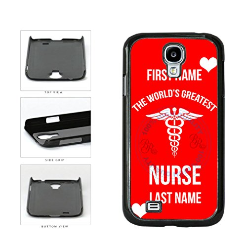 BleuReignTM-Custom-Worlds-Greatest-Nurse-Plastic-Phone-Case-Back-Cover-For-Samsung-Galaxy-S4-I9500