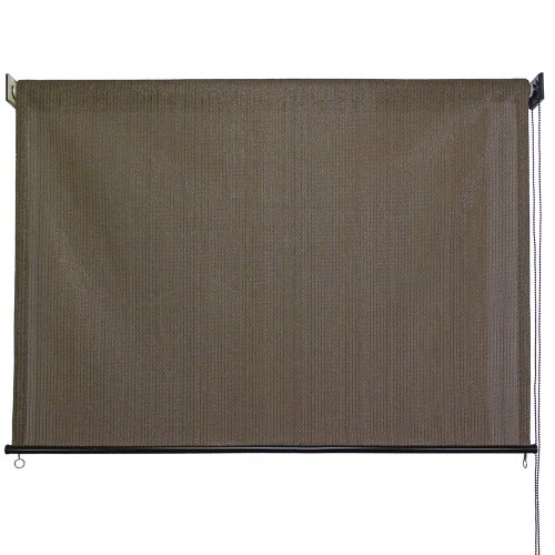 Keystone Fabrics Exterior Roller Shade, 8-Feet by 6-Feet, Cabo Sand (Outdoor Bamboo Shades Roll Up compare prices)
