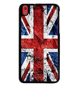 Printvisa Ultra UK Flag 2D Hard Polycarbonate Designer Back Case Cover for HTC Desire 816 :: ...