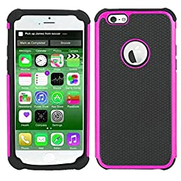 [For iPhone 5 5s ]Luxury Fashion Rugged Shockproof Holster Heavy Duty Armor Shield 2-in-1 Hybrid Dual Case Cover Skin by Arcraft(TM)
