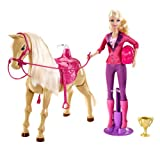 Barbie Train To Trot Tawny Pony