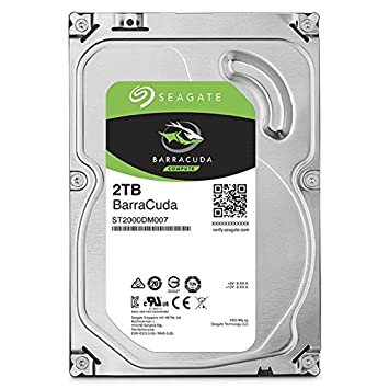 Seagate Barracuda 2TB SATA 6Gbps With 64MB Cache Internal Hard Drive Image