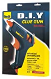 2 Bostik DIY standard hot melt glue guns with 4 free glue sticks 91297