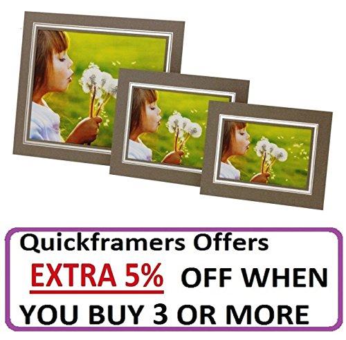 10-x-photograph-presentation-border-frame-card-strut-mounts-grey-silver-7x5