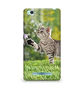 Amez designer printed 3d premium high quality back case cover for Xiaomi Mi4i (Cat)