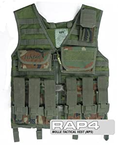 Tactical Vest (MP5) - paintball chest protector