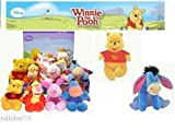 "Disney Winnie the Pooh Flopsies Refresh Soft Toy 8""/20cm"