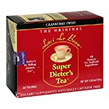 Super Dieter's Tea-Cranberry Twist 60ct Super Dieter's Tea-Cranberry Twist 60ct box Natrol (Tamaño: 60 Ct)