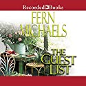 The Guest List Audiobook by Fern Michaels Narrated by Lori Gardner