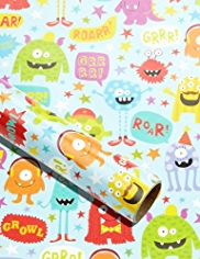 Fun Kids Monster Roll Wrap