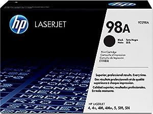 HP Hewlett Packard 92298A laserjet laser toner cartridge black 4 / 4+ / 4M / 4M+ / 5 / 5M / 5N /5Se 98A
