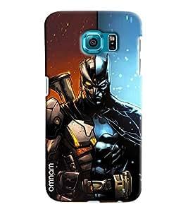 Omnam Two Super Heros Combination Printed Designer Back Case Samsung Galaxy S7