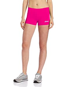 Asics Women's Low Cut Short, Small, Pink Gloww