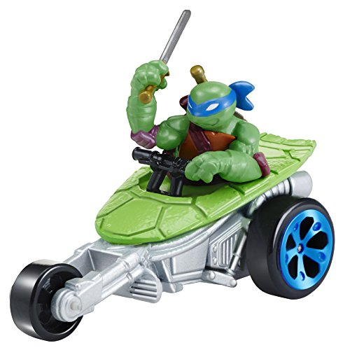 Teenage Mutant Ninja Turtles T-Machines Leonardo in Stealth Bike Diecast Vehicle - 1