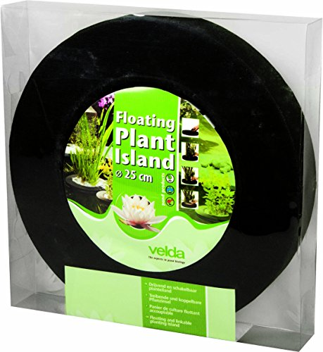 velda 127572 treibende pflanzinsel f r den teich 25 cm rund floating plant island. Black Bedroom Furniture Sets. Home Design Ideas