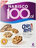 100 Calorie Packs Chips Ahoy! Thin Crisps, 0.81-Ounce, 6-Count Packs (Pack of 6)