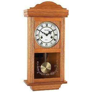Kassel 15 Day Oak Wall Clock Home Kitchen