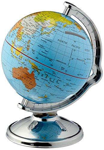 Salvadanaio a forma di globo mondo sfera girevole