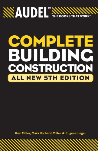 Audel Complete Building Construction (Audel Technical...